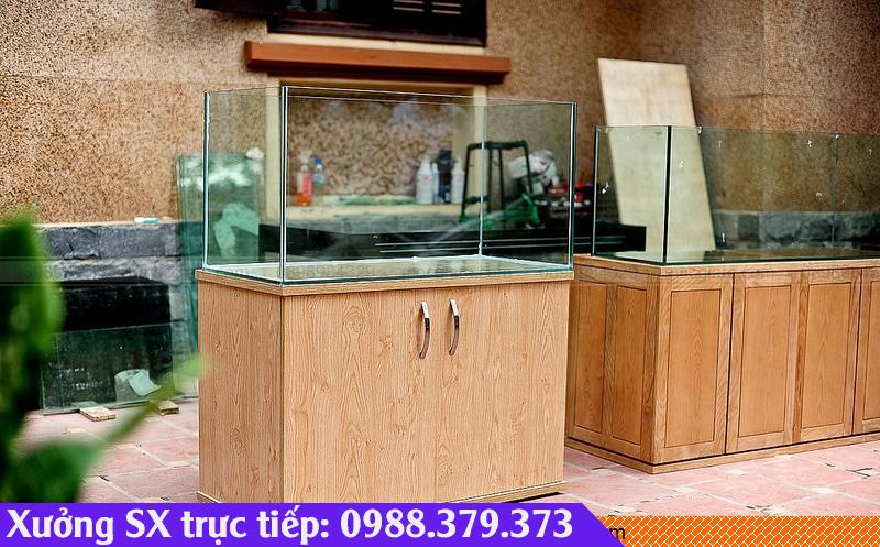 Nhận đóng bể cá bằng gỗ tại HCM