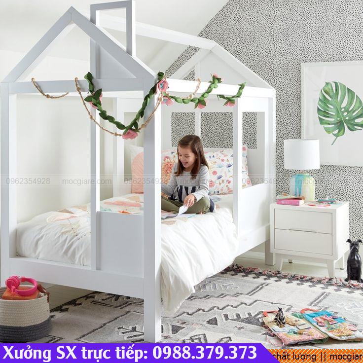 Nhận đóng giường ngủ trẻ em tại TpHCM giá rẻ, chất lượng