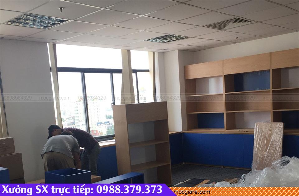 Xưởng đóng tủ hồ sơ văn phòng TpHCM giá rẻ