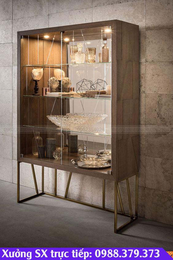 Xưởng mộc Thủ Đức nhận đóng tủ trưng bày giá rẻ, uy tín