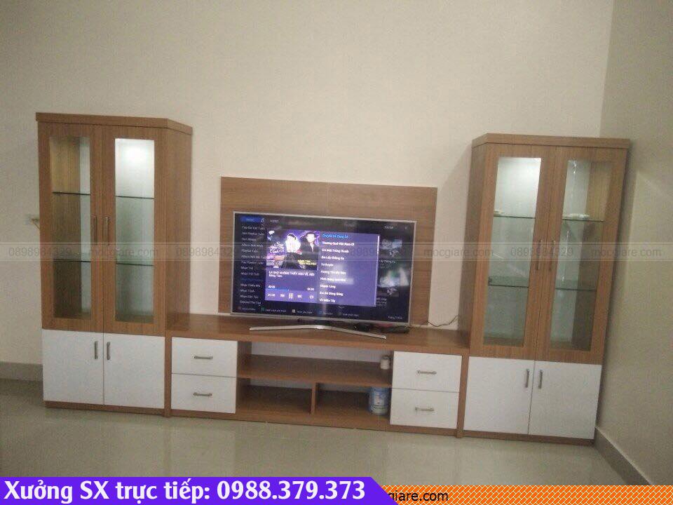 Chuyên đặt đóng kệ tủ tivi ở Thuận An 342319GSA