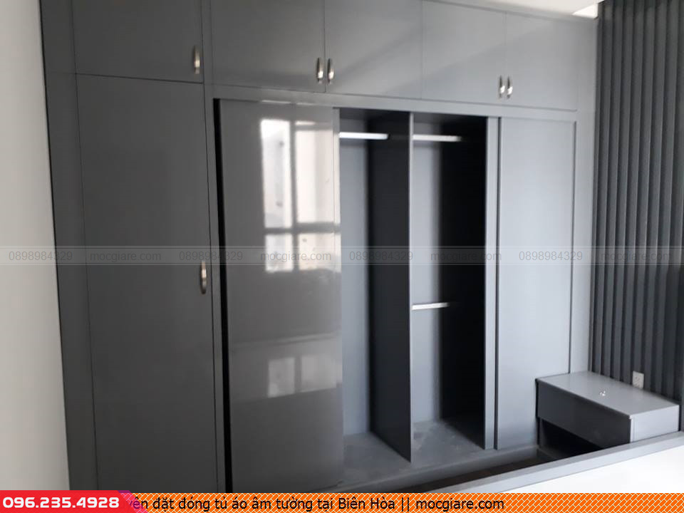 Chuyên đặt đóng tủ áo âm tường tại Biên Hòa 061819ARN