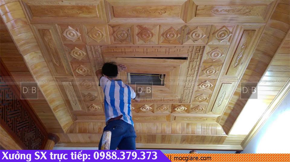 Chuyên đặt làm ốp trần nhà ở Thành Phố Mới 011819VLB