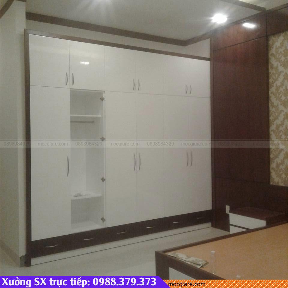 Chuyên đặt làm tủ áo âm tường tại Bến Cát 521819CSX