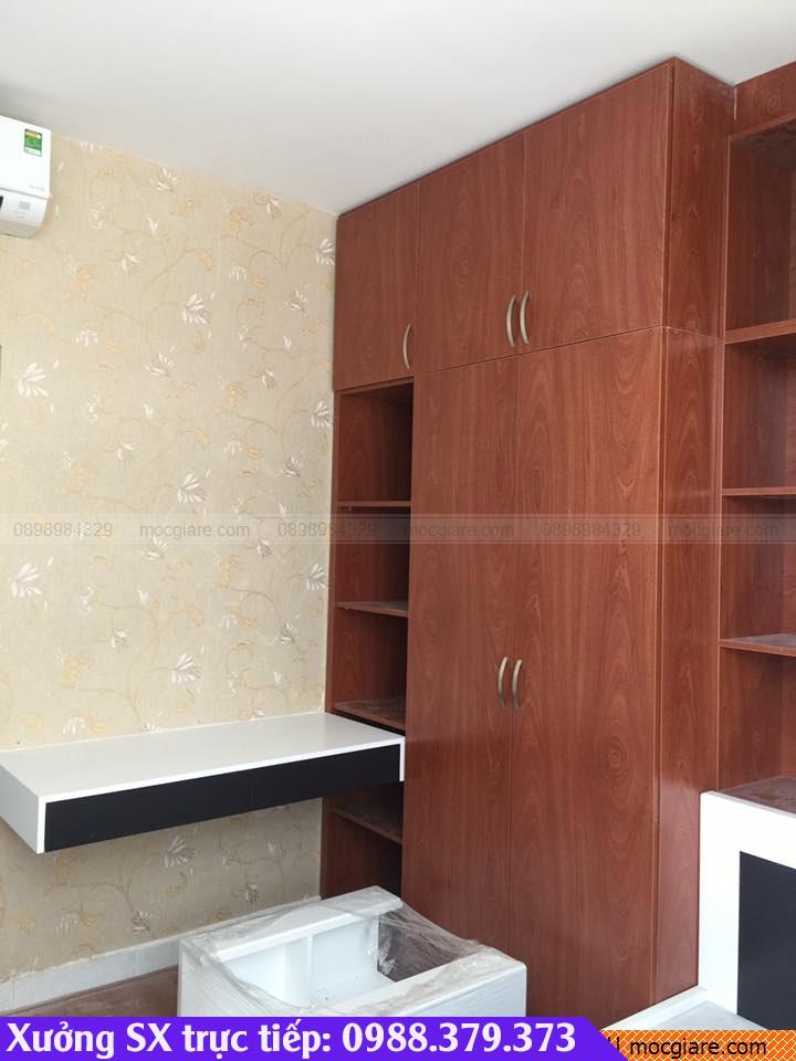 Chuyên đặt làm tủ áo âm tường tại Bình Tân 031819L7D