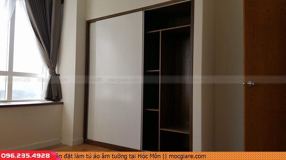 Chuyên đặt làm tủ áo âm tường tại Hóc Môn 411819DR5