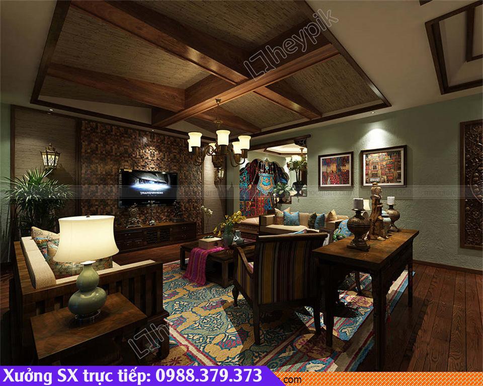 Đóng ốp trần nhà gỗ Thủ Dầu Một 531819R39