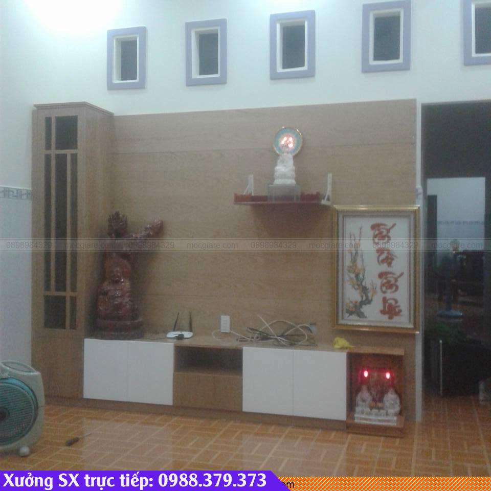 Đóng tủ kệ tivi tại Thủ Dầu Một 212319ET9