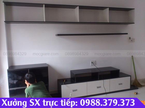 Đóng tủ tivi ở Thuận An 012319HR2