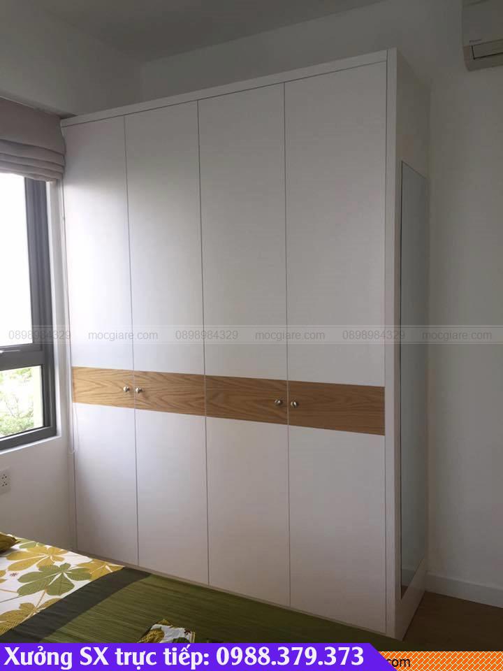 Làm tủ áo âm tường Long Khánh 101819V6R