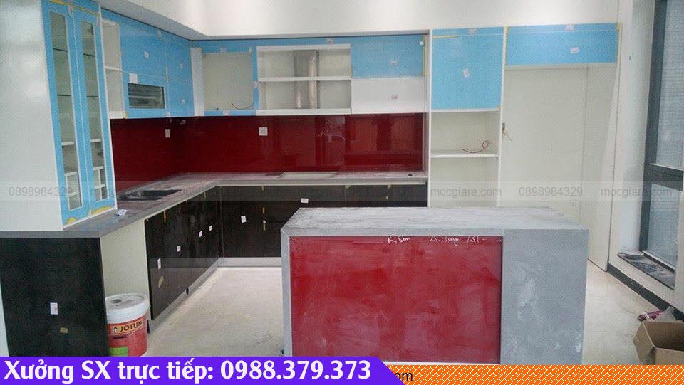 Làm tủ bếp gỗ tại  Thủ Dầu Một 3818196CU