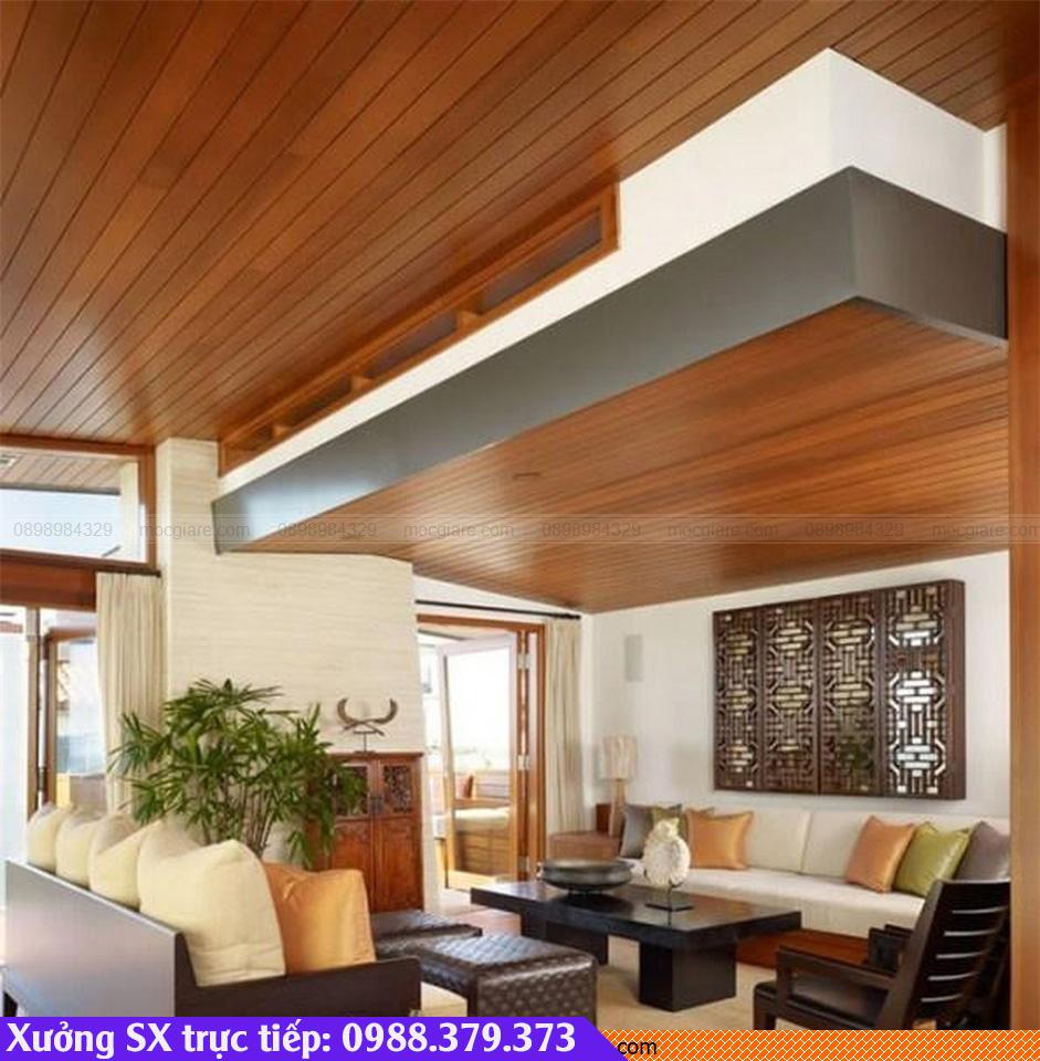 Xưởng đóng trần nhà gỗ tại Dĩ An 081819WVD