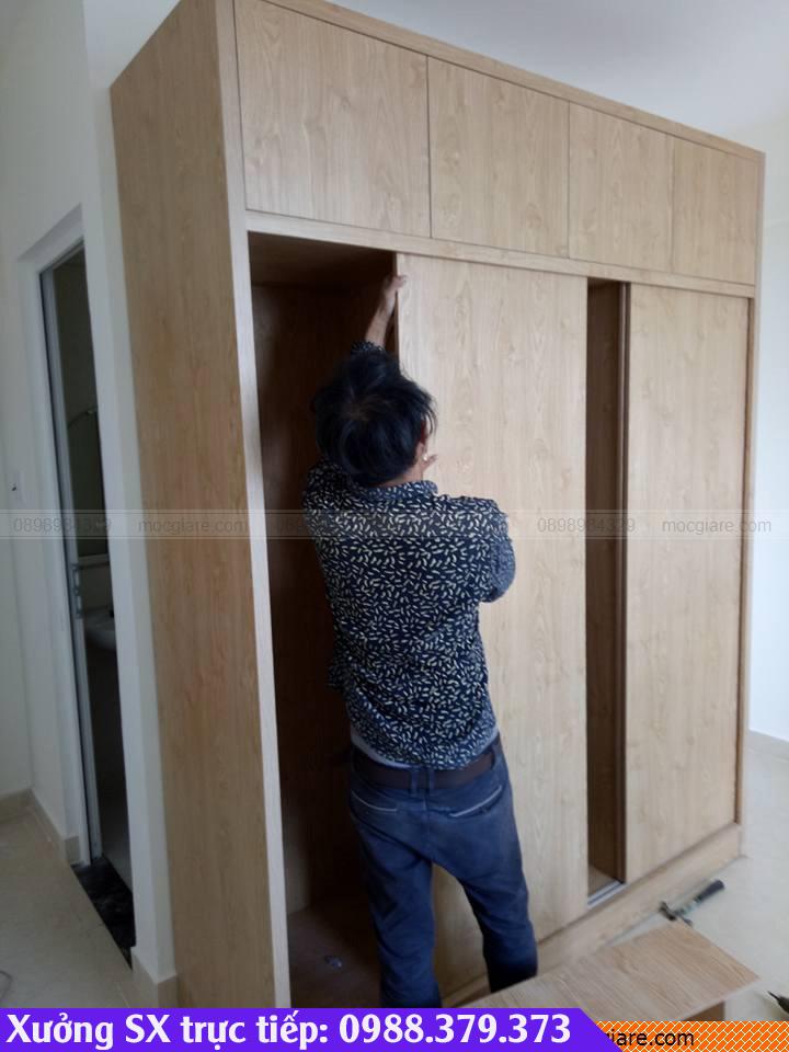 Xưởng đóng tủ áo âm tường ở Nhà Bè 3518192GK