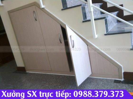 Xưởng đóng tủ cầu thang tại Dĩ An 241819SUZ
