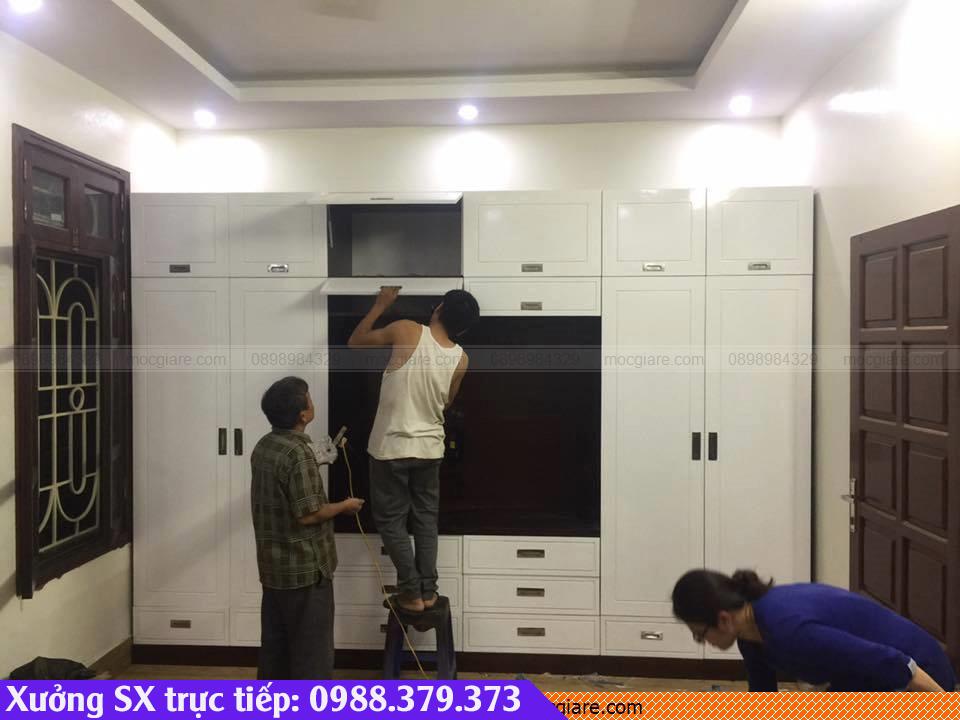 Xưởng đóng tủ quần áo rẻ tại Tân Bình 021819Z1F